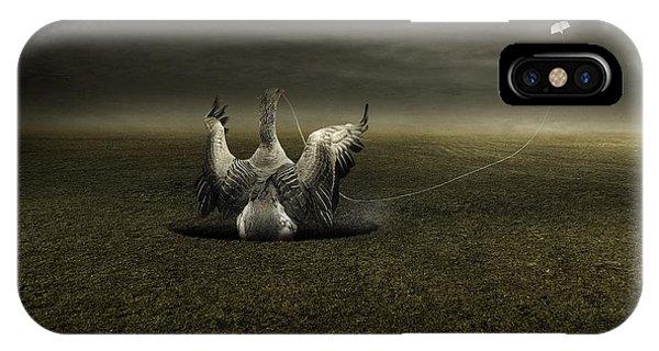 Surrealistic iPhone Case - Help On The Way by Johan Lilja