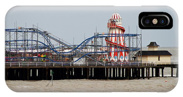 Funfair iPhone Case - Helter Skelter by Martin Newman
