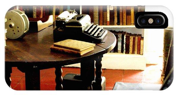 Hemingway's Studio Ernest Hemingway Key West IPhone Case