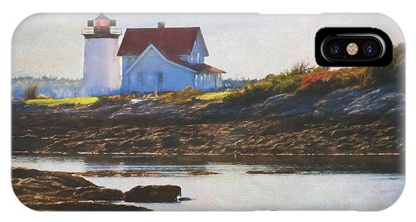Hendricks Head Lighthouse - Maine IPhone Case