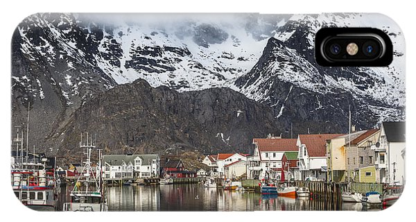 Henningsvaer IPhone Case