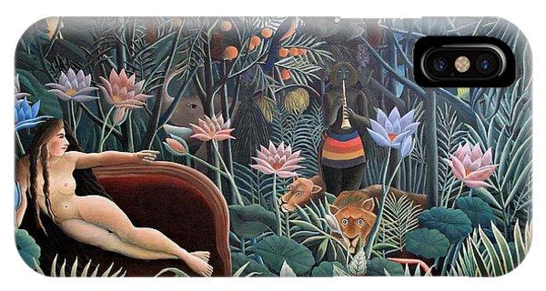 Henri Rousseau The Dream 1910 IPhone Case