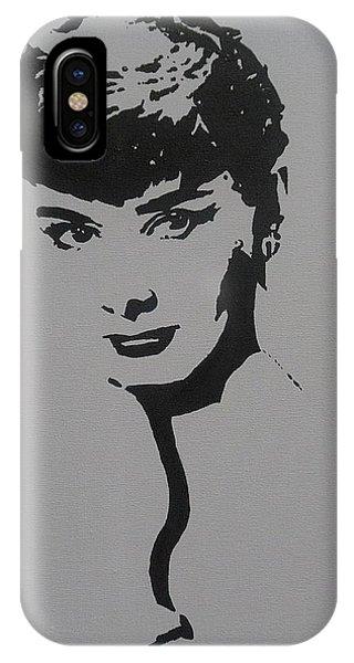 Hepburn IPhone Case