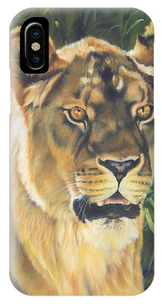Her - Lioness IPhone Case