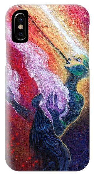Her Power Is Within IPhone Case