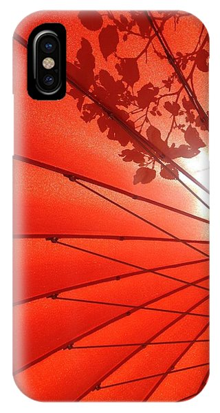Her Red Parasol IPhone Case