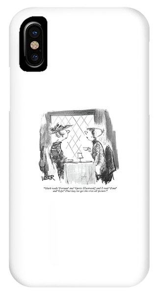 Herb Reads 'fortune' And 'sports Illustrated IPhone Case