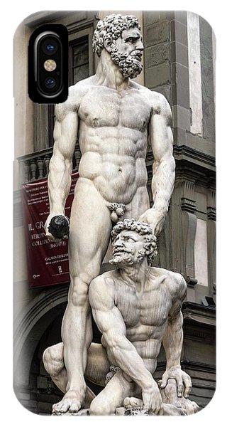 Hercules And Cacus IPhone Case