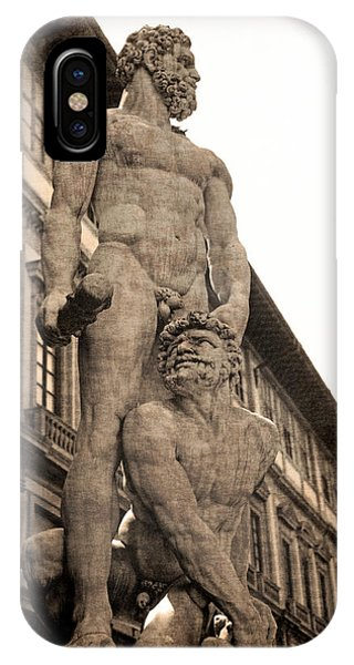 Hercules And Caucus In Florence IPhone Case
