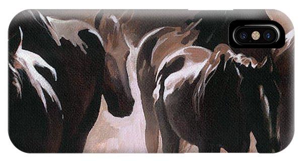 Herd Of Horses IPhone Case