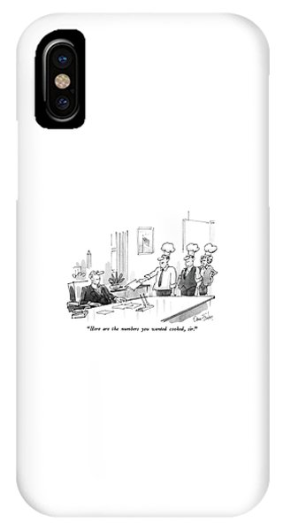 Here Are The Numbers You Wanted Cooked IPhone Case