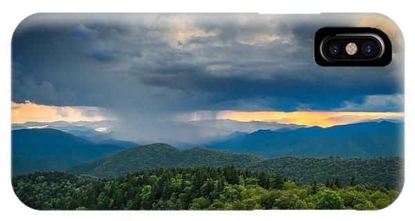 IPhone Case featuring the photograph Here Comes The Rain by Joye Ardyn Durham