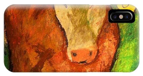 Hereford Art IPhone Case