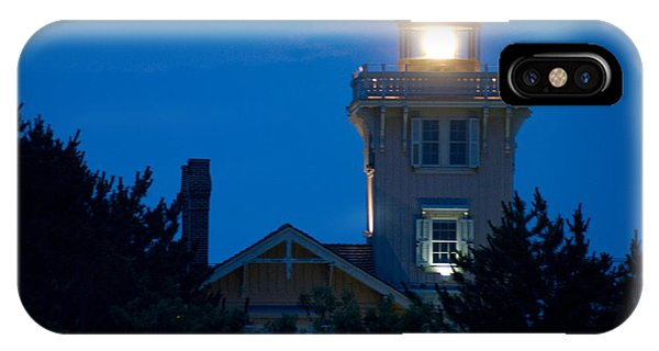 Hereford Inlet Lighthouse At Dusk IPhone Case