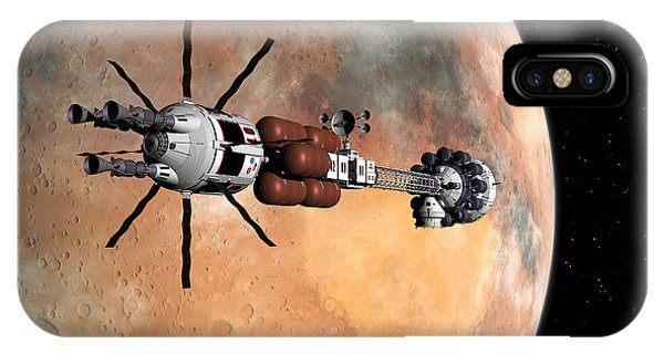 Hermes1 Mars Insertion Part 1 IPhone Case