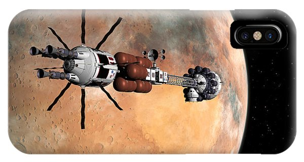 Hermes1 Mars Insertion Part 1 IPhone Case