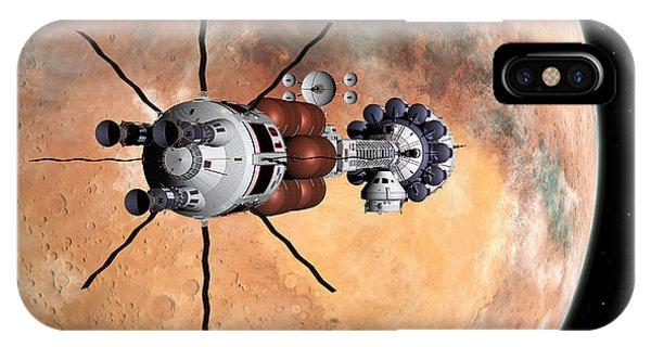 Hermes1 Realign Orbital Path IPhone Case
