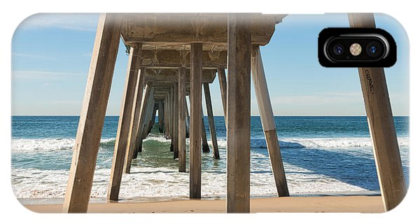 Hermosa Beach Pier IPhone Case