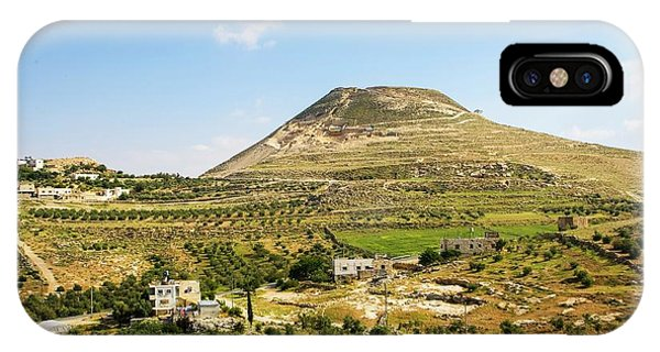 Psi iPhone Case - Herodion Man-made Hill by Photostock-israel