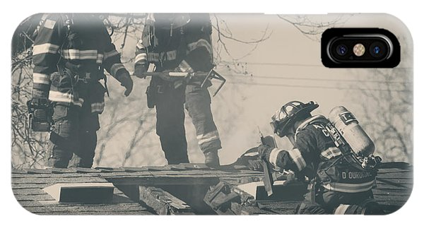 Bravery iPhone Case - Heroes by Laurie Search