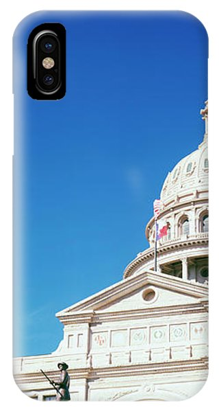 The Alamo iPhone Case - Heroes Of The Alamo Memorial by Panoramic Images