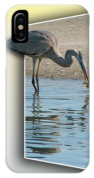 Heron And Sea-horse IPhone Case