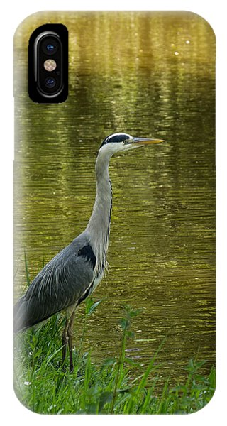Heron Statue IPhone Case