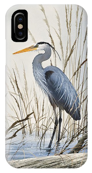 Heron iPhone Case - Herons Natural World by James Williamson