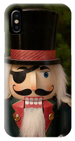IPhone Case featuring the photograph Herr Drosselmeyer Nutcracker by Richard Reeve