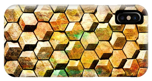 Hexacubes IPhone Case
