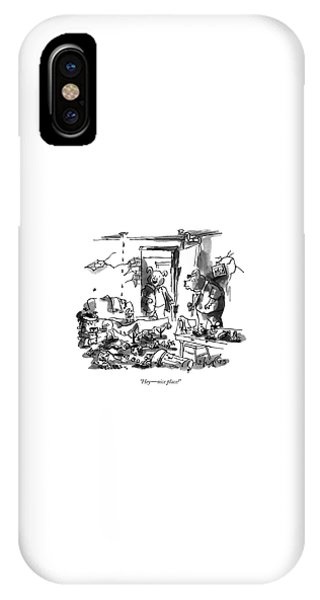 Hey - Nice Place! IPhone Case