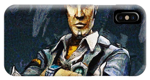 Hey Vault Hunter Handsome Jack Here IPhone Case