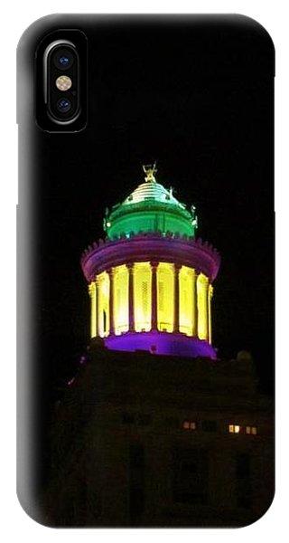Hibernia Tower - Mardi Gras IPhone Case