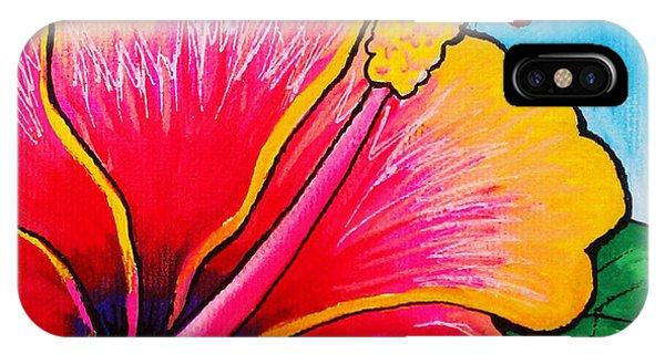 Hibiscus 01 IPhone Case