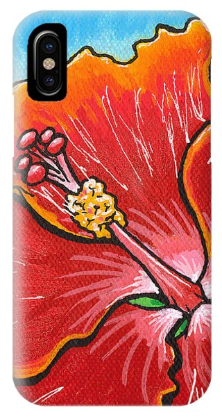 Hibiscus 06 IPhone Case