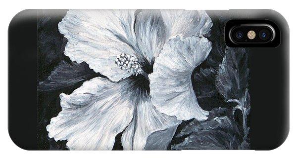Hibiscus 1 IPhone Case