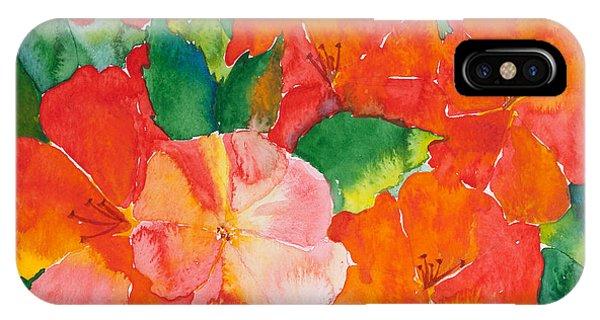 Hibiscus Flowers IPhone Case