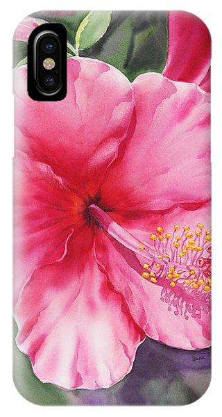 Hibiscus Flower iPhone Case - Hibiscus by Irina Sztukowski