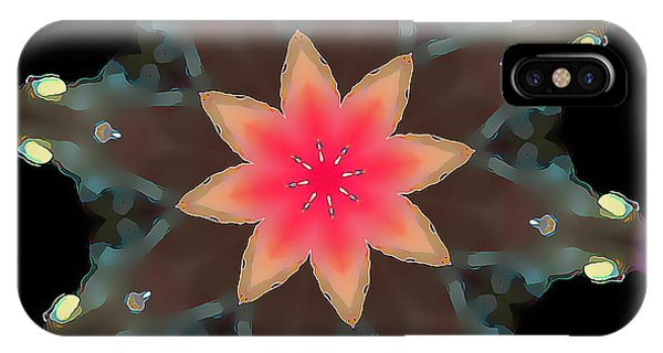 Hibiscus Mandala IPhone Case