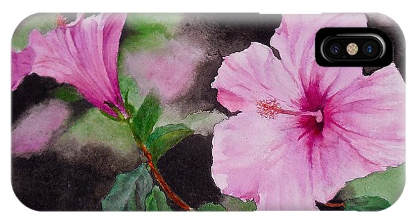 Hibiscus - So Pretty In Pink IPhone Case