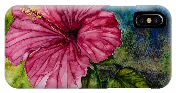 Hibiscus Study IPhone Case