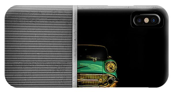 Retro iPhone Case - Hidden Beauty by Umut Aydin