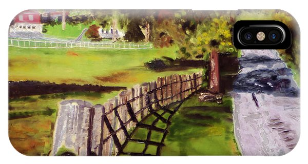 Hidden Brook Farm IPhone Case