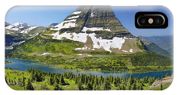 Hidden Lake In Glacier National Park IPhone Case