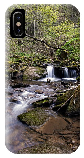 Hidden Streambed  Phone Case by David Lester