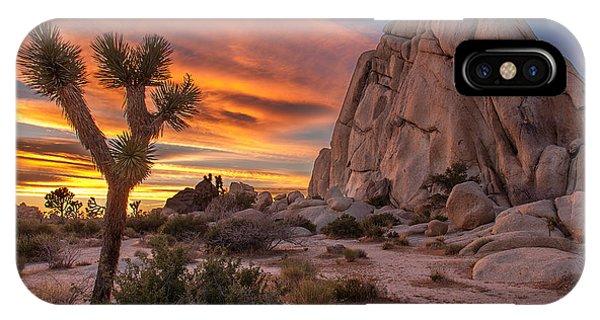 Hidden Valley Rock - Joshua Tree IPhone Case