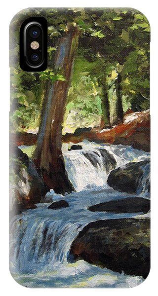 Hidden Waterfall IPhone Case