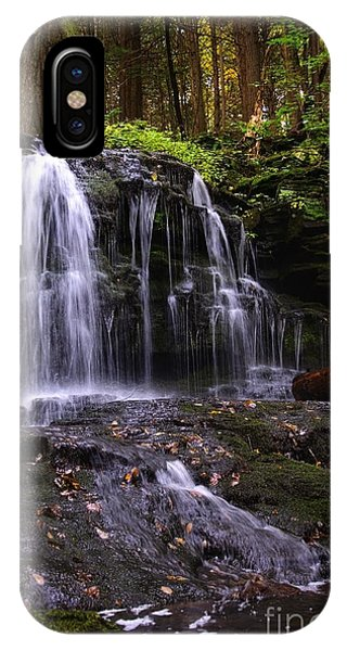 Hidden Waterfalls Of Wayne County I IPhone Case