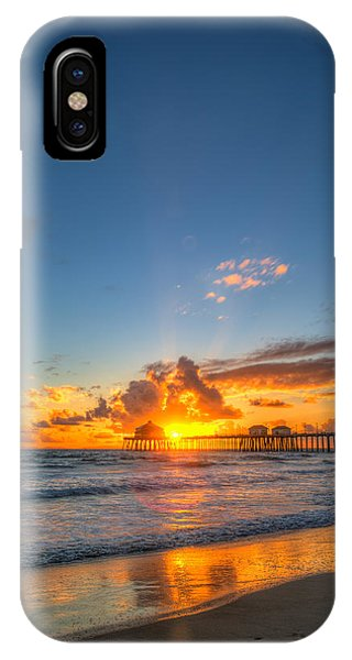 Hiding Sunset IPhone Case