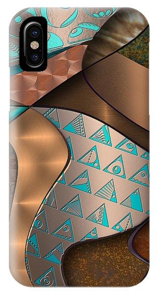 Hieroquoise Cupriglyphs IPhone Case